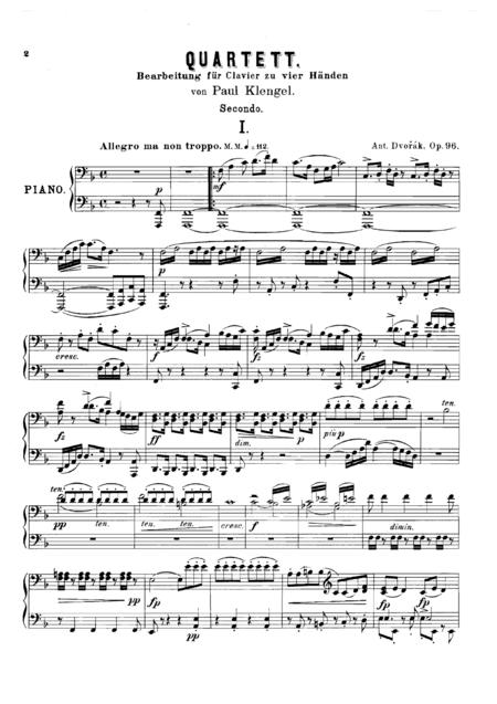 Dvorak String Quartet Op.96