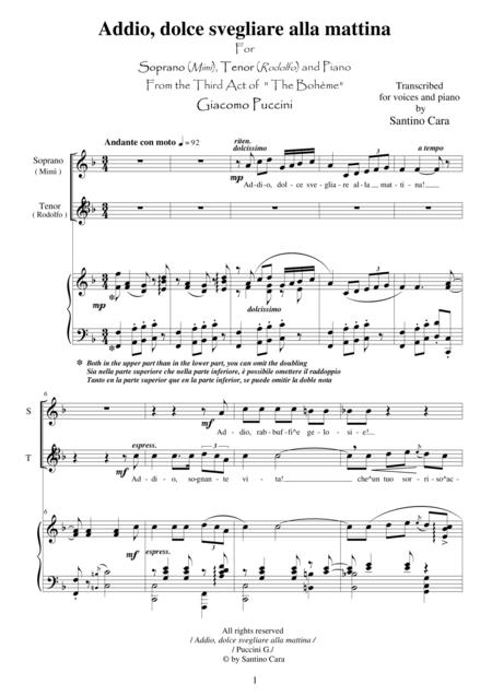 Puccini - La Bohème (Act3)