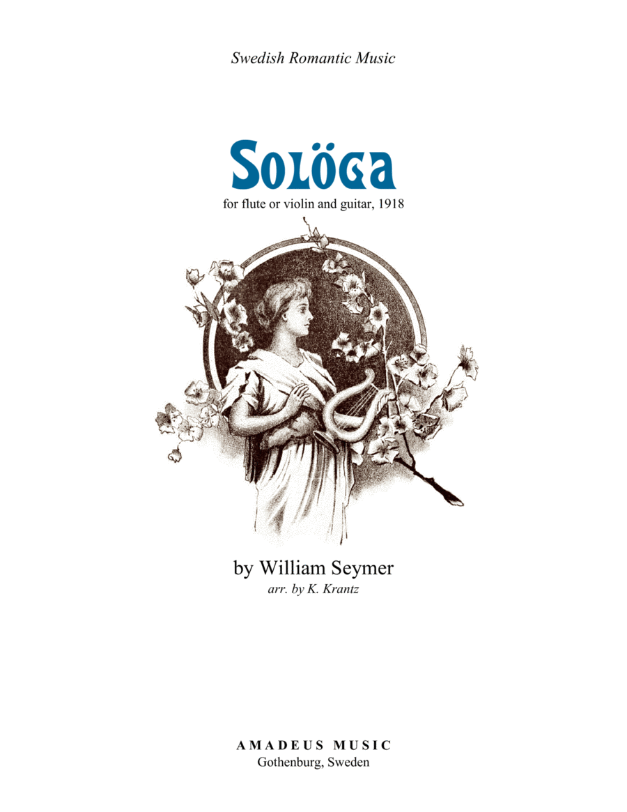 Sologa for violin or flute and guitar