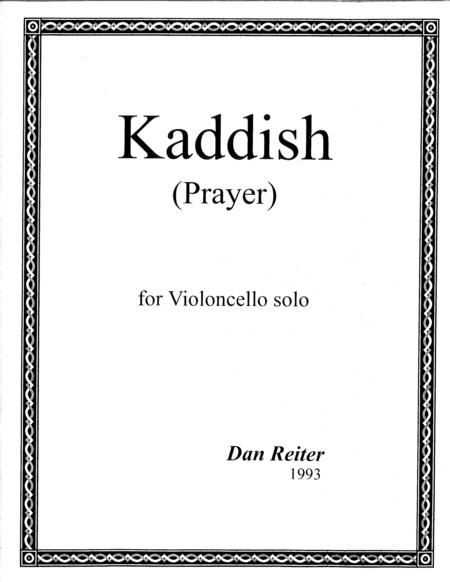 Kaddish  ( Prayer )