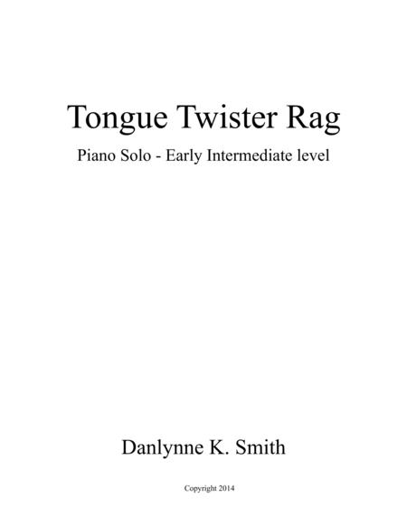 Tongue Twister Rag
