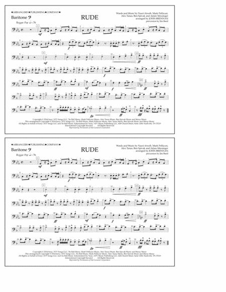 Rude - Baritone B.C.