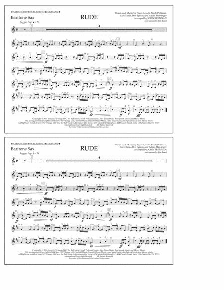 Rude - Baritone Sax