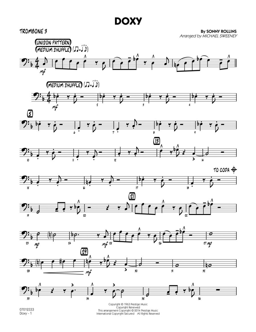 Doxy - Trombone 3