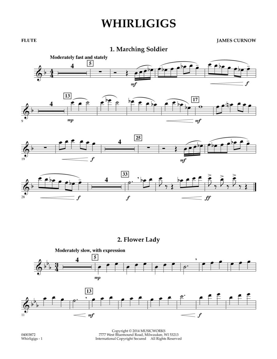 Whirligigs - Flute