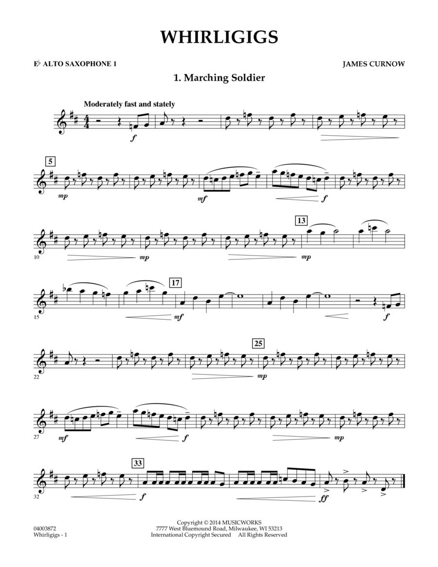 Whirligigs - Eb Alto Saxophone 1