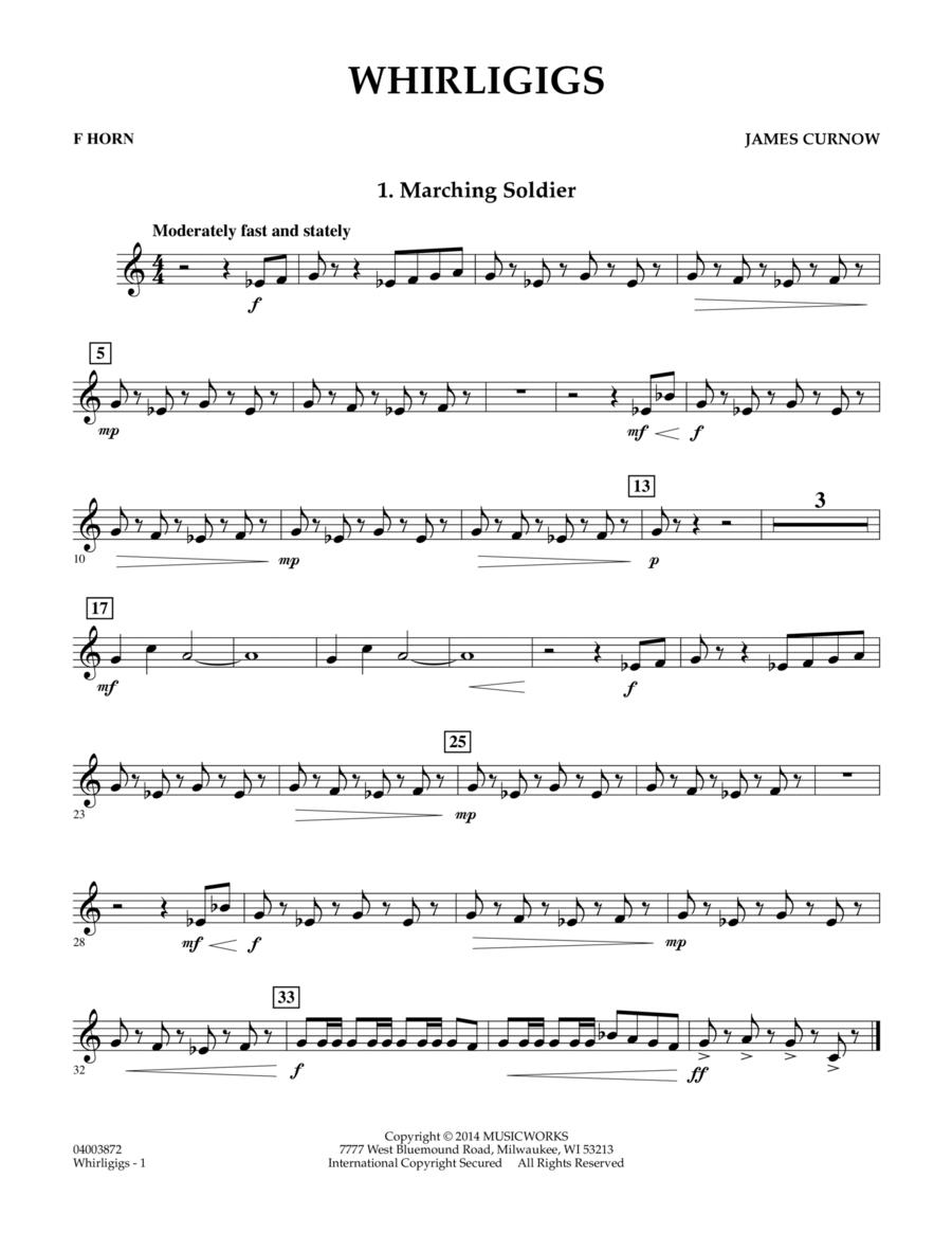 Whirligigs - F Horn