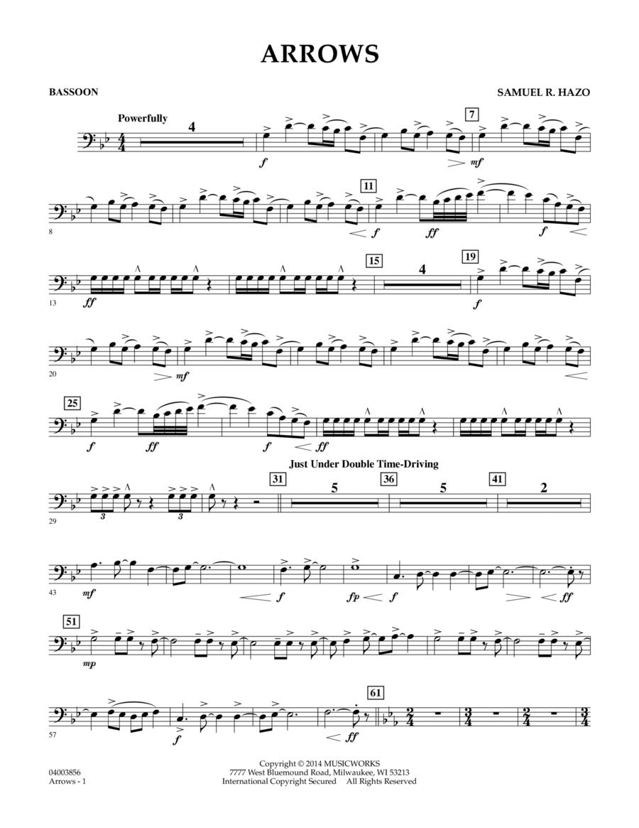 Arrows - Bassoon