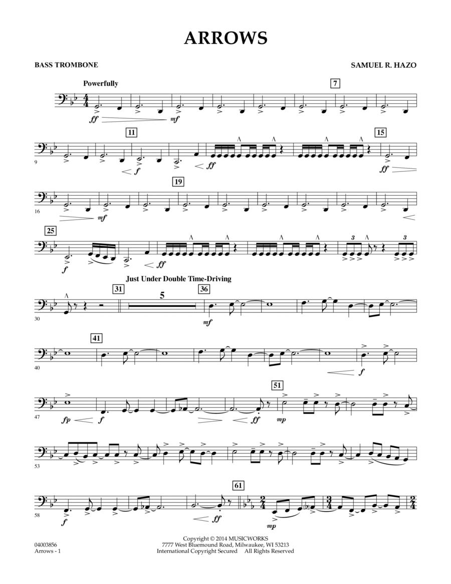 Arrows - Bass Trombone
