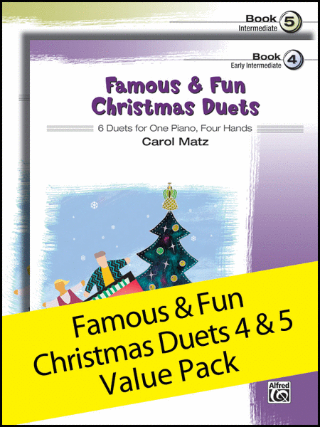 Famous & Fun Christmas Duets 4-5 (Value Pack)