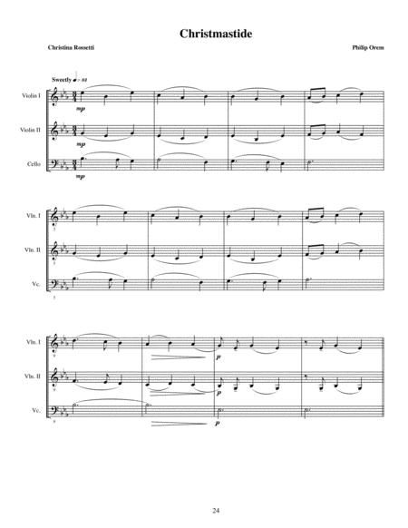 Three Christmas Motets - 3) Christmastide
