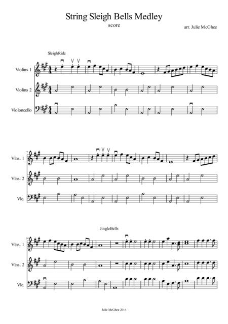 String Sleigh Bells Medley