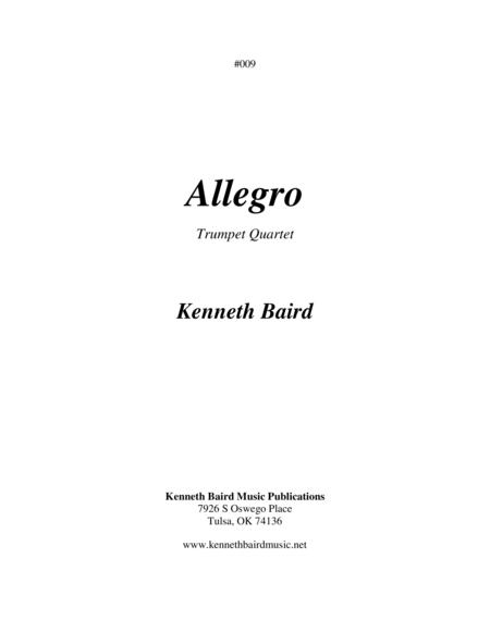 Allegro (Quartet for Trumpets)