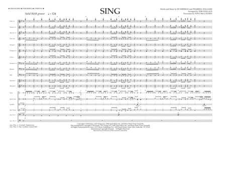 Sing - Full Score