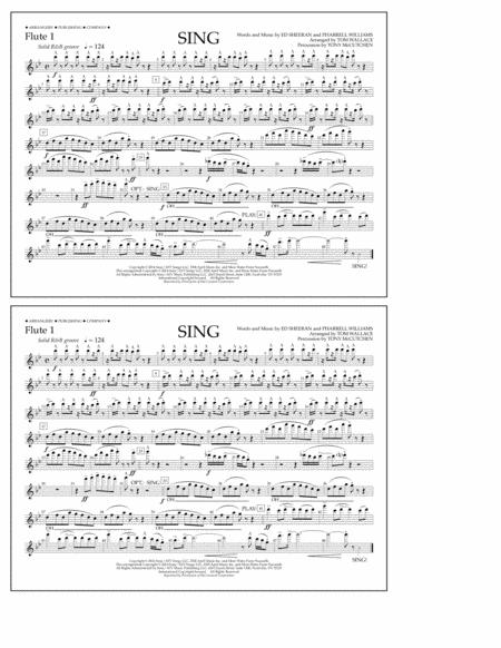 Sing - Flute 1