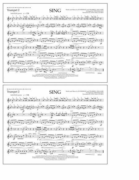 Sing - Trumpet 2