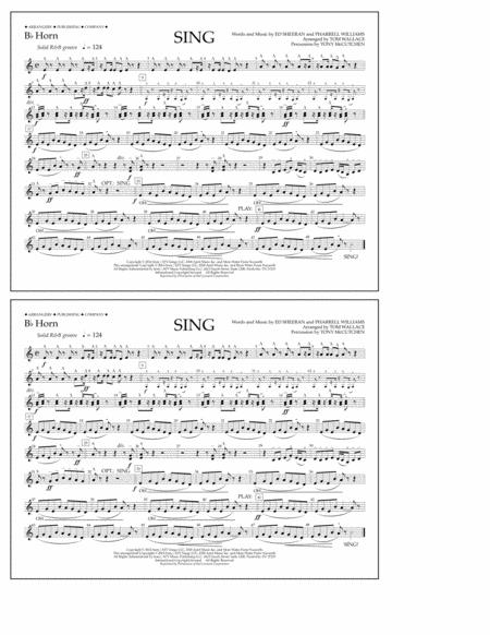 Sing - Bb Horn