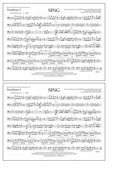 Sing - Trombone 2