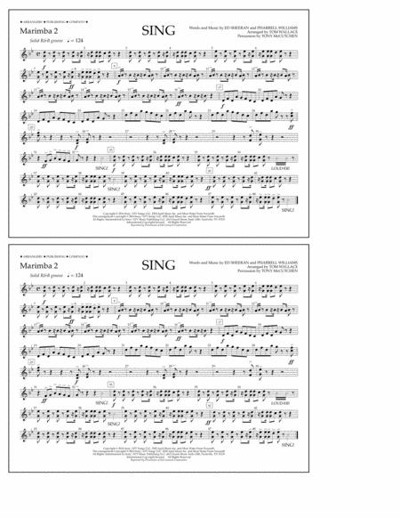 Sing - Marimba 2