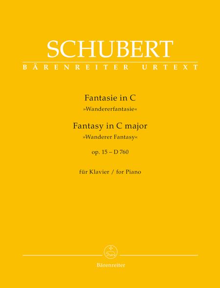 Fantasy for Piano C major op. 15 D 760