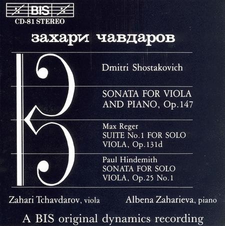 Shostakovich; Hindemith: Viola