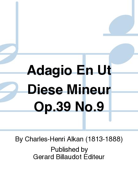 Adagio En Ut Diese Mineur Op.39 No.9