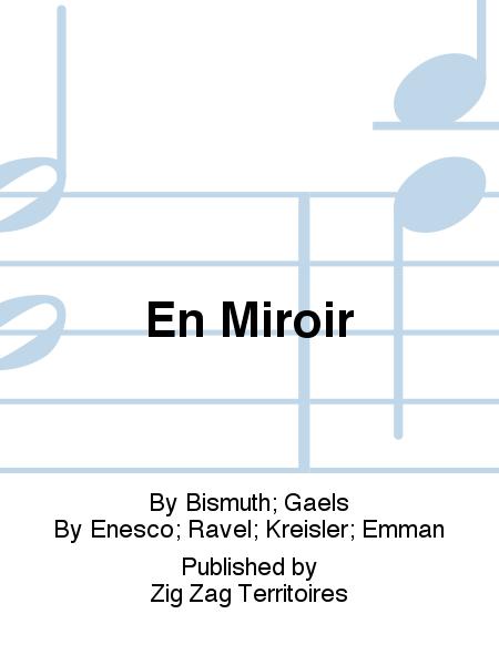 En miroir sheet music by bismuth gaels sheet music plus for Miroir zig zag