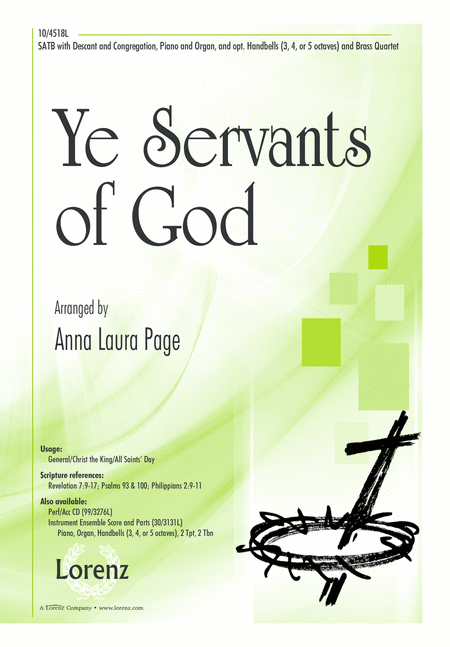 Ye Servants of God