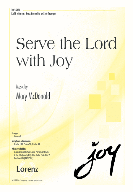 Serve the Lord with Joy