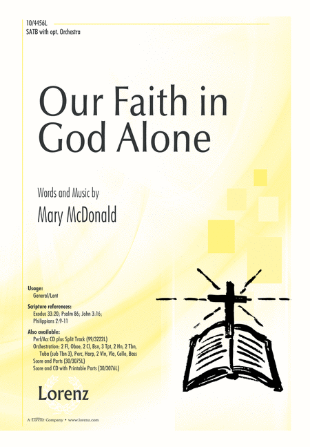 Our Faith in God Alone