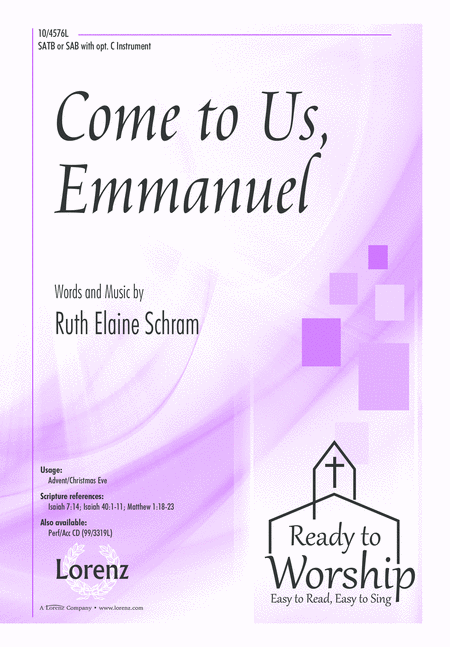Come to Us, Emmanuel