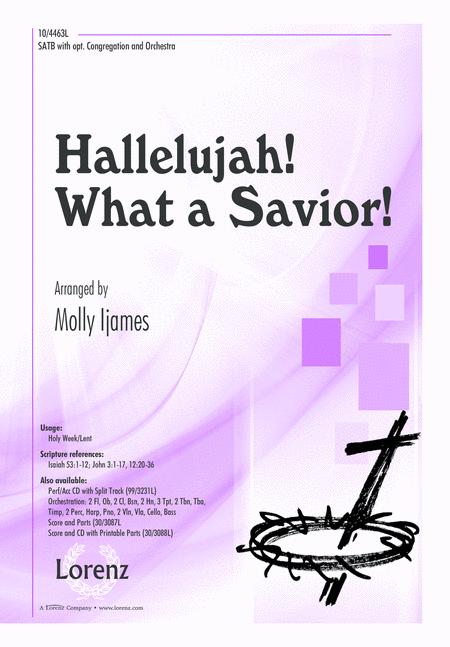 Hallelujah! What a Savior!