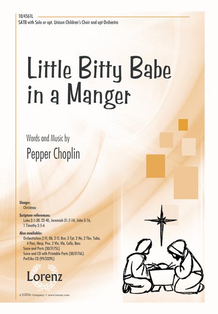 Little Bitty Babe in a Manger