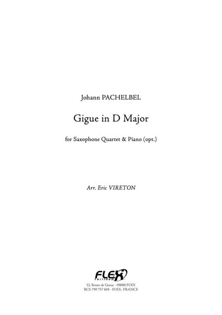 Gigue in D Major