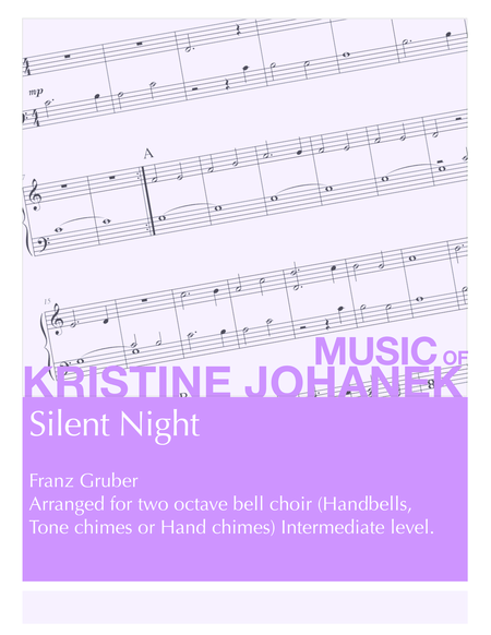 Silent Night (2 octave handbells, tone chimes or hand chimes)