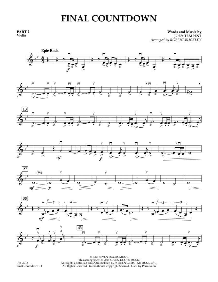 Final Countdown - Pt.2 - Violin