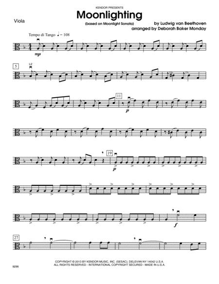 Moonlighting (based on Moonlight Sonata) - Viola