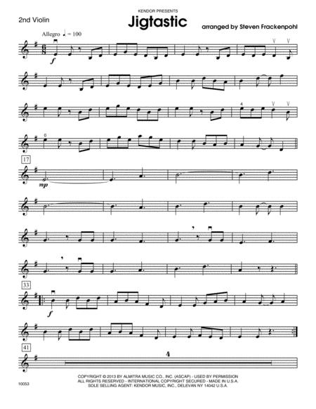 Jigtastic - Violin 2