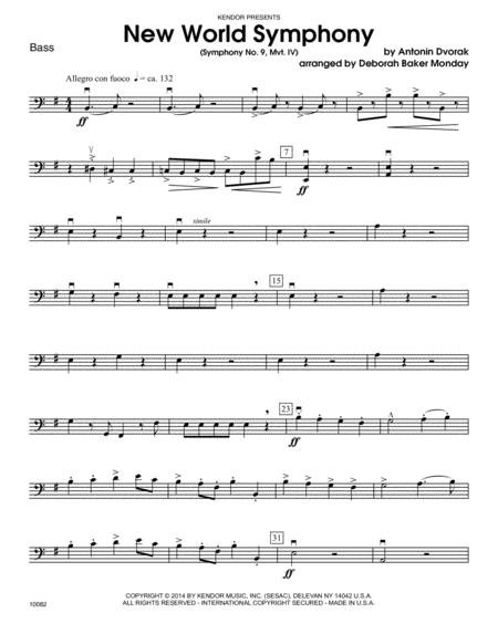 New World Symphony (Symphony No. 9, Mvt. IV) - Bass