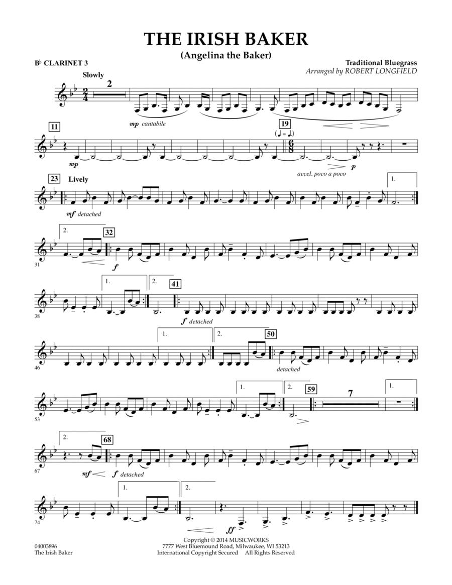 The Irish Baker - Bb Clarinet 3