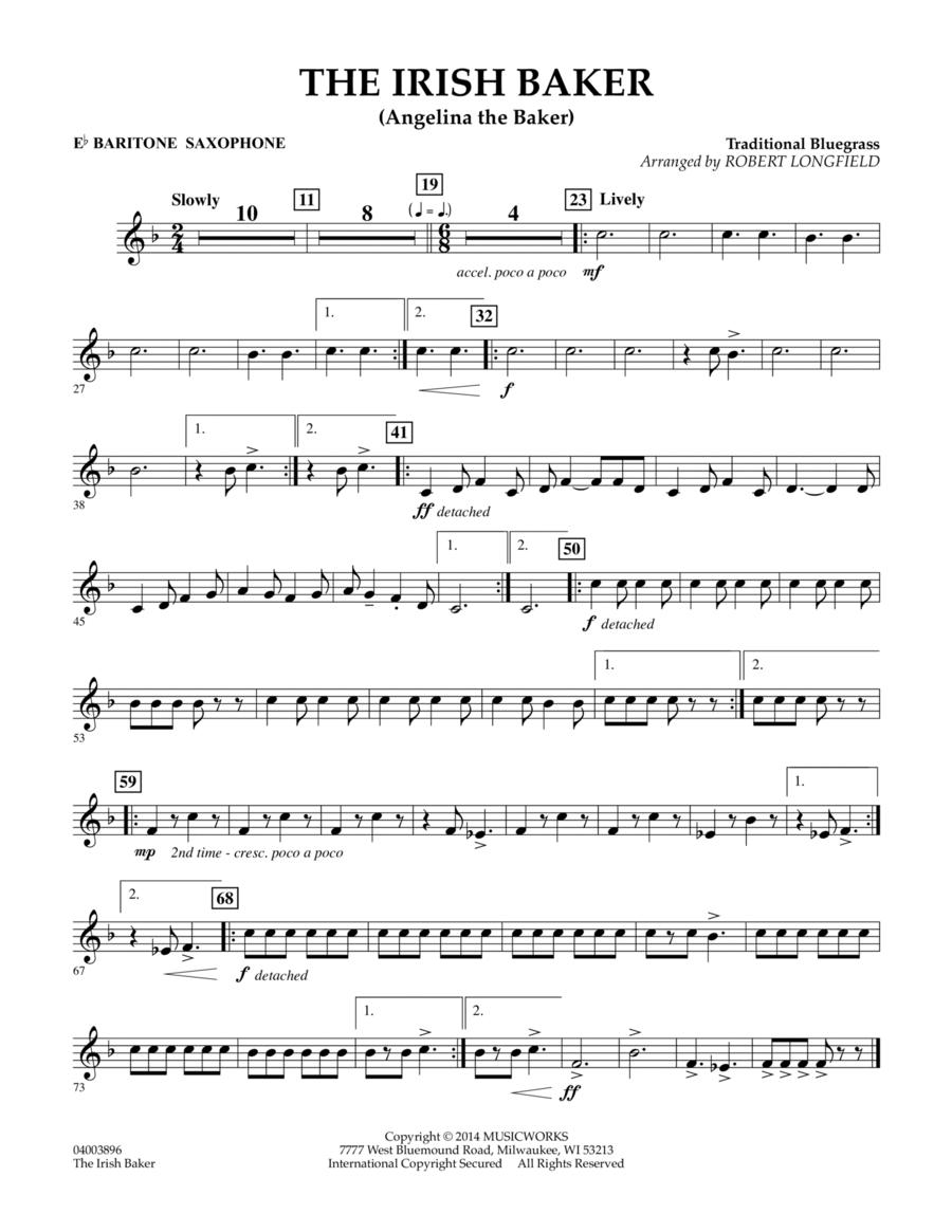 The Irish Baker - Eb Baritone Saxophone
