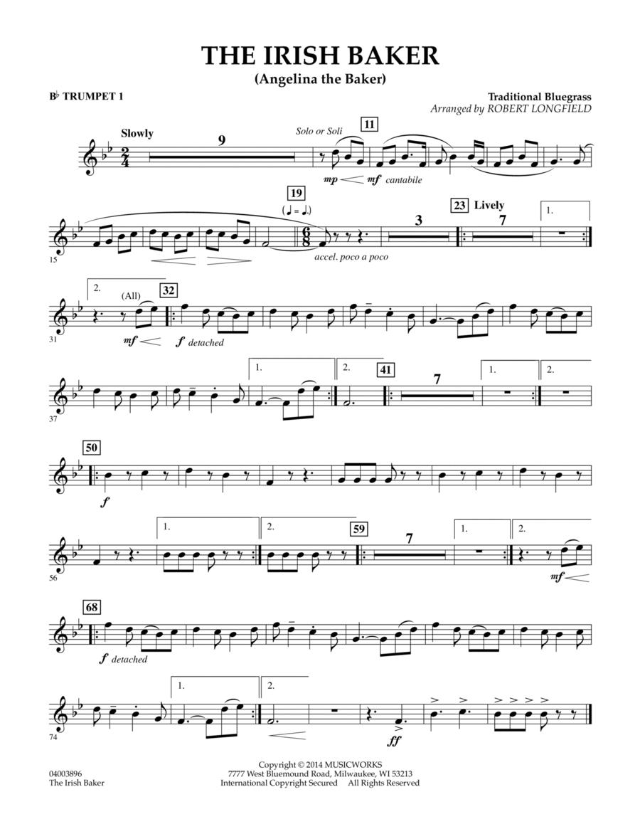The Irish Baker - Bb Trumpet 1