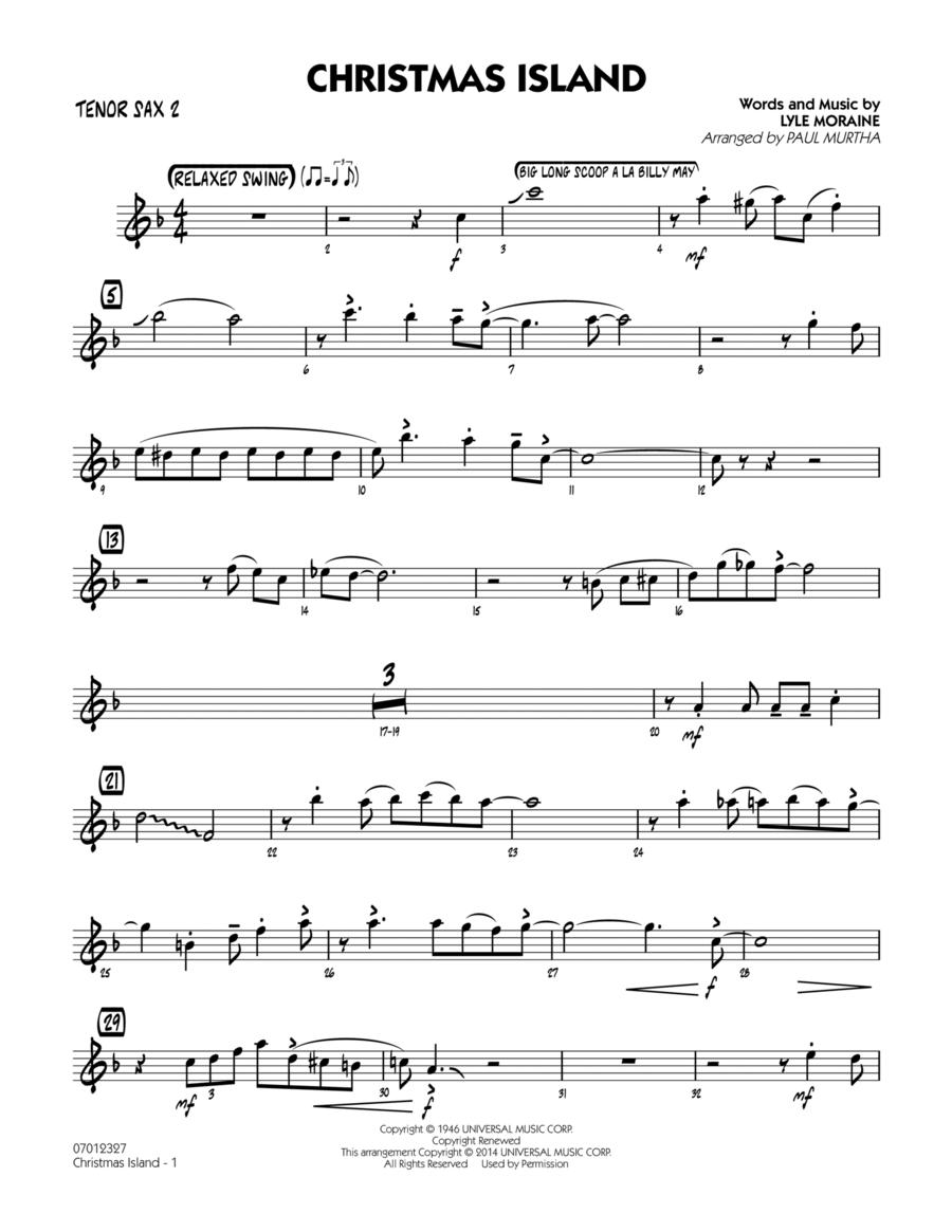Christmas Island - Tenor Sax 2