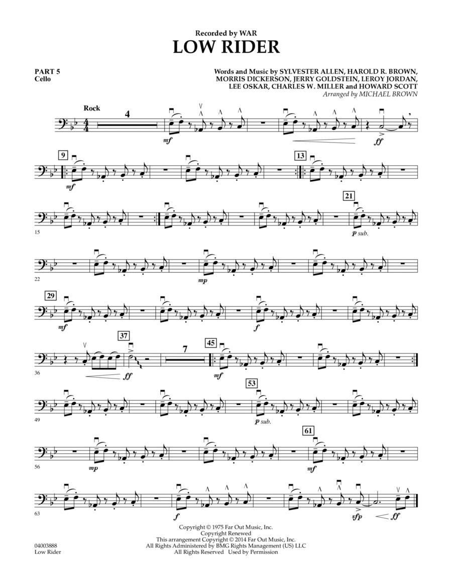 Low Rider - Pt.5 - Cello