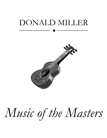 Music of the Masters for Guitar Ensemble