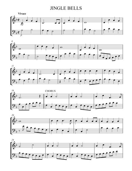 Jingle Bells vln & cello duet