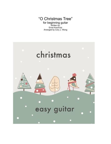 O Christmas Tree (Easy Guitar w/ tab)