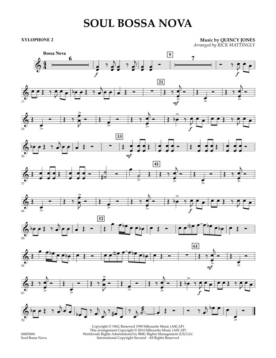 Soul Bossa Nova - Xylophone 2