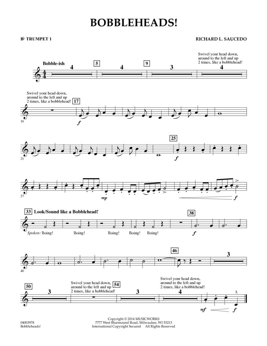 Bobbleheads! - Bb Trumpet 1