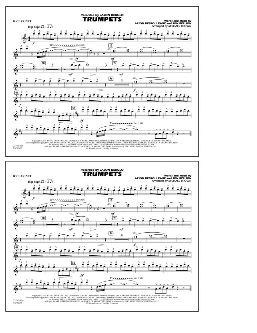 Trumpets - Bb Clarinet